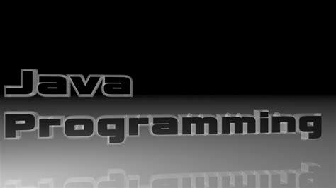 Java Programming Wallpaper