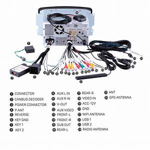 Oem Reverse Camera Control Harness For Aftermarket Head