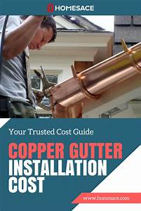 Cost To Install Copper Gutter