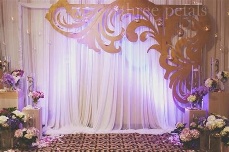 Background Decorations by Wedding Backdrops Draping Ideas Wedding Decorations