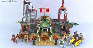 LEGO Chima Croc Swamp Hideout 70014 build & set review!