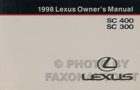 how to download repair manuals 1998 lexus sc lane departure warning 1995 2000 lexus gs ls sc automatic transmission overhaul manual gs