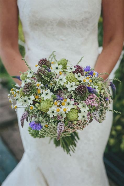 17 Best Images About Natural Wedding Bouquets On Pinterest