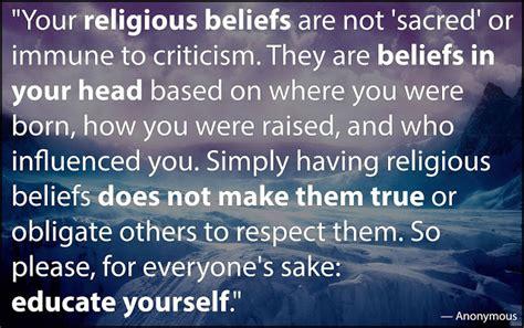 jobsanger religious beliefs   immune  criticism