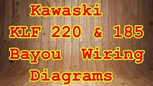 Diagram  1990 Kawasaki Bayou Wiring Diagram Full Version