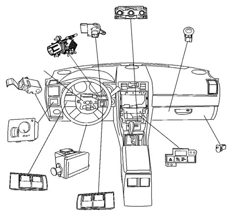Chrysler Parts Store by Chrysler Town Country Switch Instrument Panel