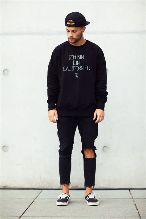 Kevin Elezaj - Vans Shoes Zara Jeans Civissum Sweater Forever 21 Cap - Californier | LOOKBOOK