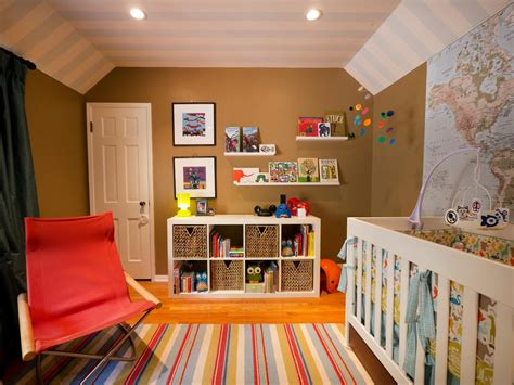 Colorful Genderneutral Nursery  Kids Room Ideas For