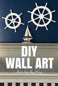 diy nursery decorations nautical wall art With nautical wall art