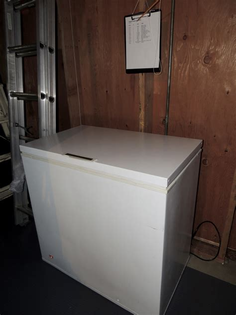 frigidaire chest freezer lou murrays green world