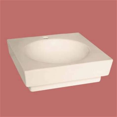 Bone Colored Bathroom Sinks by Bathroom Vessel Sink Square Bone China Faucet Overflow