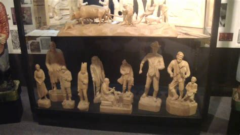 wood carving museum youtube