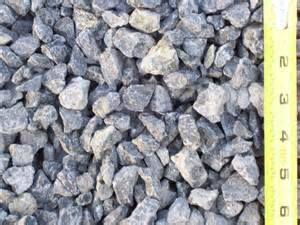 "3 4"" Crushed Rock"