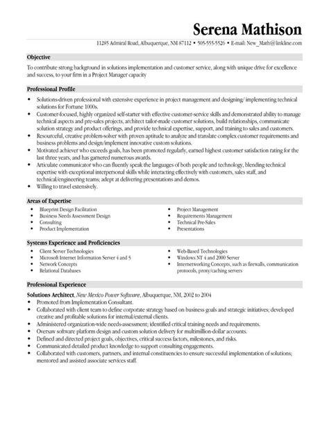 Objective For It Manager Resume by 25 Best Ideas About Sle Resume On Sle Resume Templates Cv Resume Sle And