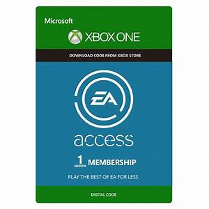 EA Access 1 Month XBOX ONE CDKEY GameCardlt PC