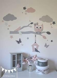 Chambre Bebe Nuage : deco chambre bebe fille nuage ~ Teatrodelosmanantiales.com Idées de Décoration