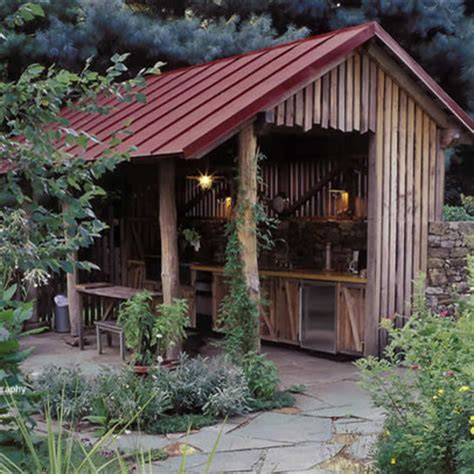 outdoor cooking area ideas garage and shed outdoor cooking area design ideas pictures remodel and decor summer kitchen