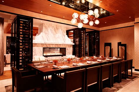 chefs tables counters  private dining  la