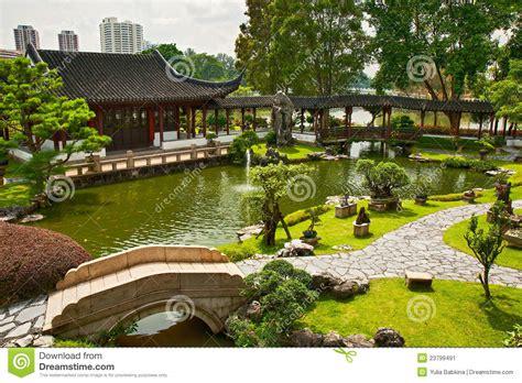 Japanischer Garten Singapur by Japanischer Garten In Singapur Stockbild Bild 23799491