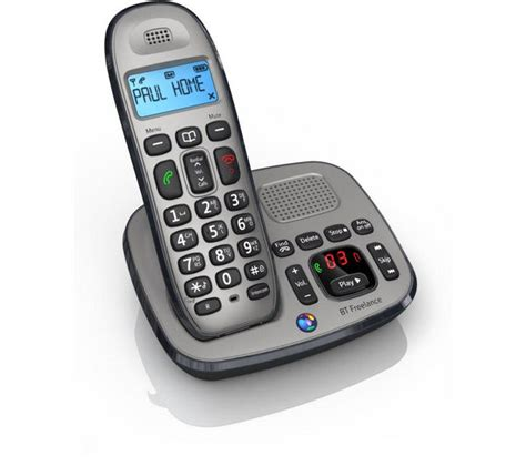 cordless phone with answering machine bt freelance xd8500 cordless phone with answering machine