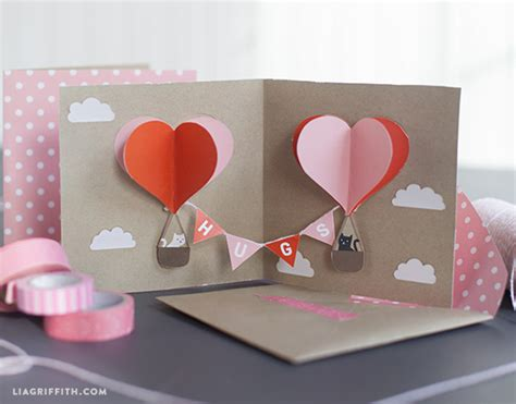 diy pop  valentines card skip   lou
