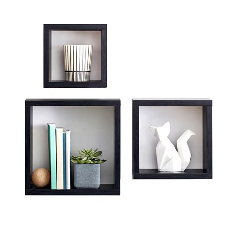 Home Wall Shelves by Square Cubes Spruce Up Your Wall Space While Adding