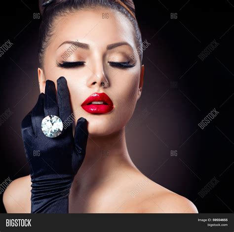 beauty fashion glamour girl image photo bigstock
