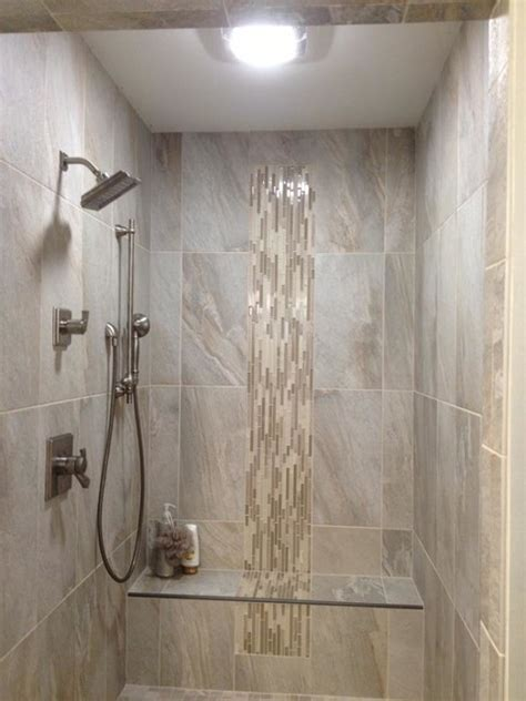 grey soldier tile contemporary bathroom indianapolis