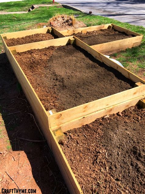 adding topsoil to garden how to prepare raised garden beds weed free style craft thyme
