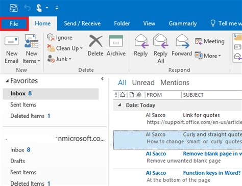 how to change smart quotes to straight quotes in microsoft word outlook and powerpoint