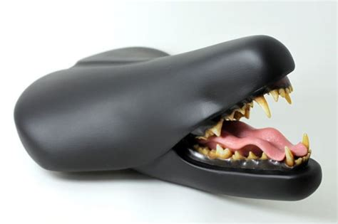 comfortable bicycle seats clem chen s taxidermy bike seats neatorama