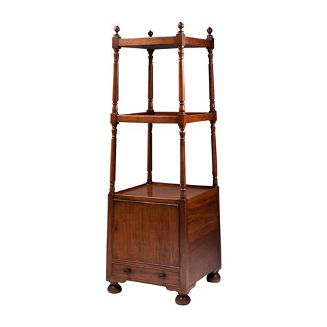 vintage regency style mahogany etagere from piatik on ruby