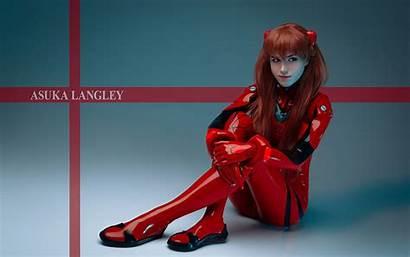 Asuka Evangelion Cosplay Anime Wallpapers Langley 1080p