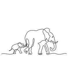 elephant outline images   elephant