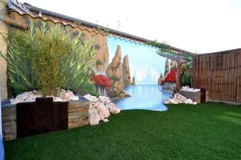 decoration zen et nature cuisine battement decoration jardin decoration jardin avec galets decoration jardin terrasse