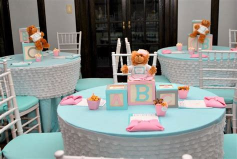 Decorating Ideas For Baby Shower Gift Table by Why You Should Go For Diy Baby Shower Table Decorations