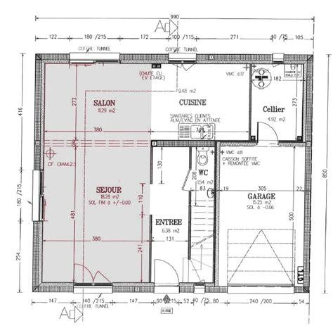plan salon salle a manger conseil futur salon s 224 m am 233 nagement peintures