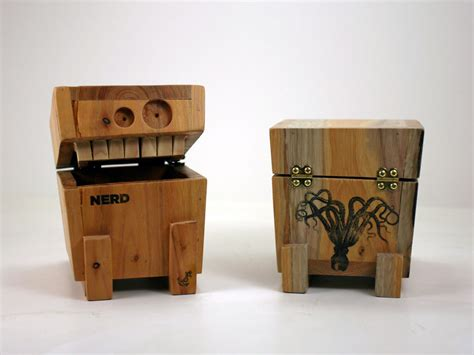 eric grimes whimsical scrap wood monster boxes american