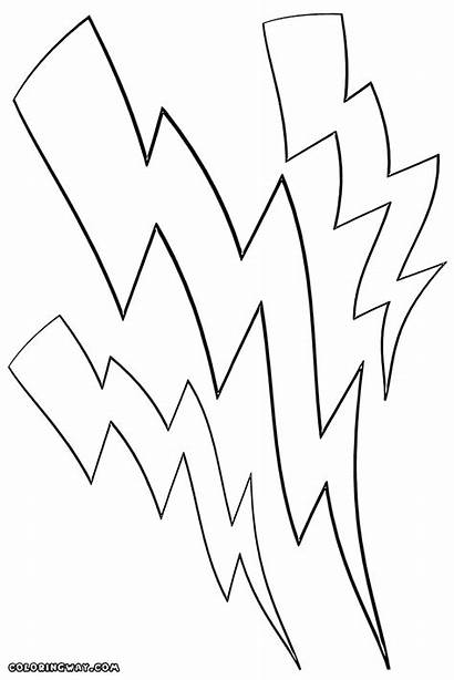 Lightning Coloring Pages Colorings