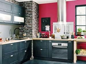 Couleur Cuisine Moderne : cuisine couleur armoire cuisine cuisine moderne couleur ~ Melissatoandfro.com Idées de Décoration