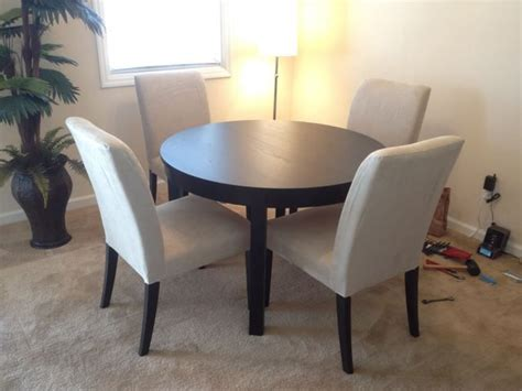 ikea bjursta dining table   henriksdal chairs home decor dining room inspiration table