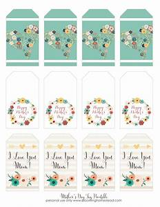 Mother's Day Printable Gift Tags - Blooming Homestead