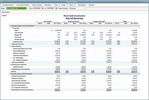 year  payroll processes   year
