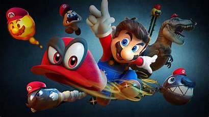 Mario Odyssey Super 4k Nintendo 8k Bros
