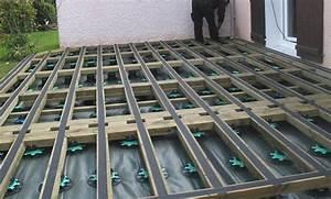 Installer Une Terrasse En Bois : comment installer une terrasse en bois composite manu tous service ~ Farleysfitness.com Idées de Décoration