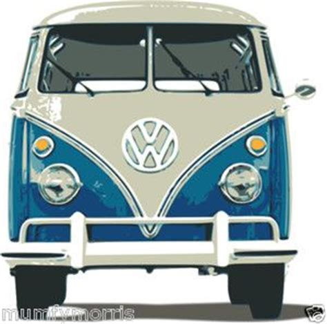 volkswagen van front vw cer cushion covers and t shirts on pinterest