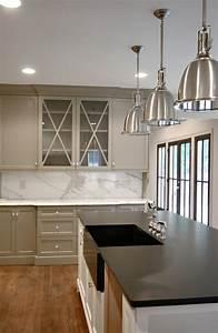 Gray Kitchen Cabinets - Transitional - kitchen - Benjamin