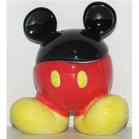 Disney Salt and Pepper Shakers   Mickey Mouse Body Parts
