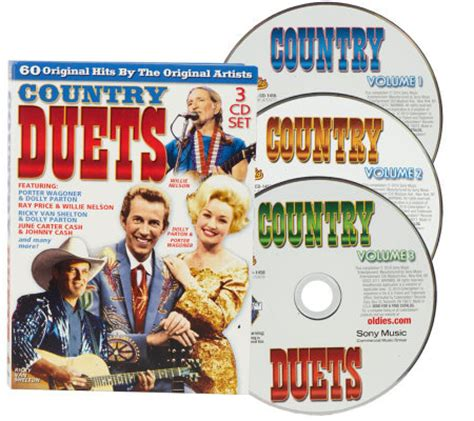 duet country songs classic country duets 3 cd set 60 songs qvc com