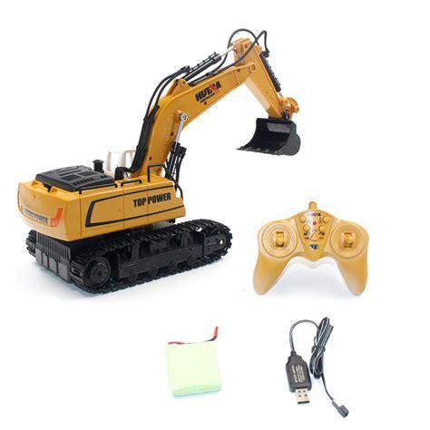 Harga Rc Excavator Huina huina 1331 1 16 9ch rc excavator truck engineering